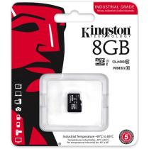 Kingston 8GB microSDHC CL10 UHS-I Industrial Temperature adapter nélkül